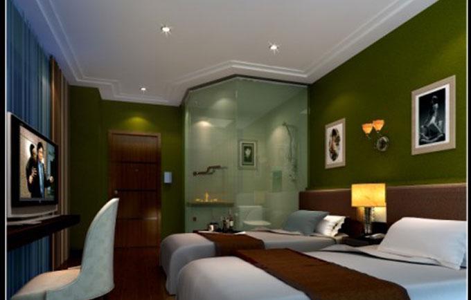 加州金品宾馆房间